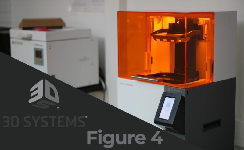3D-tuotannon uusi kone – 3DSystems Figure 4